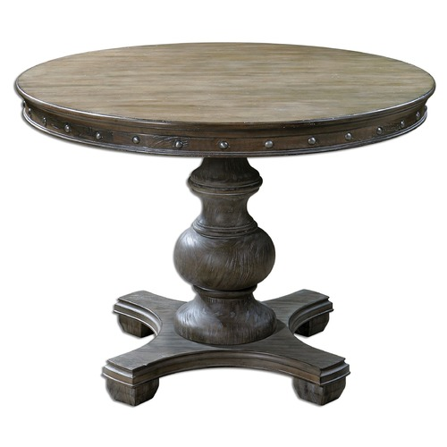 Uttermost Lighting Uttermost Sylvana Wood Round Table 24390