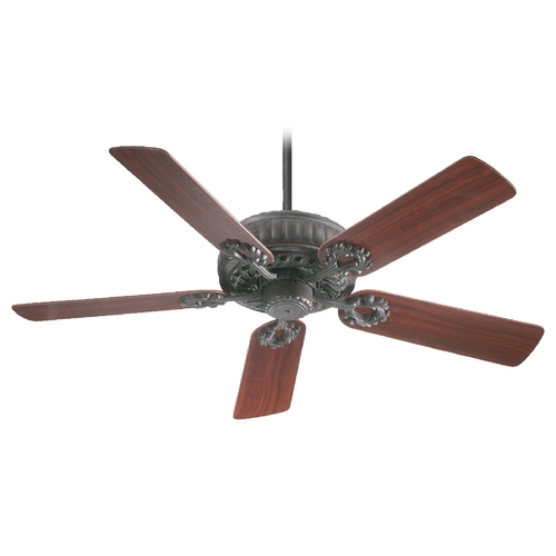 Quorum Lighting Quorum Lighting Empress Toasted Sienna Ceiling Fan Without Light 35525-44