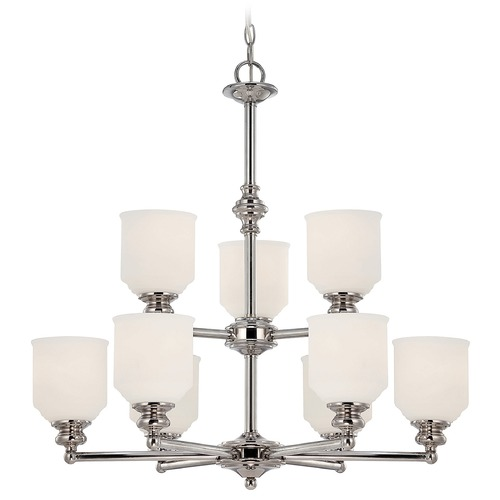 Savoy House Savoy House Polished Chrome Chandelier 1-6838-9-11