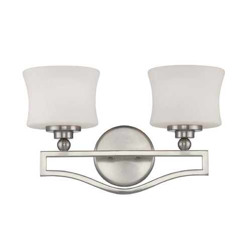 Savoy House Savoy House Satin Nickel Bathroom Light 8P-7215-2-SN