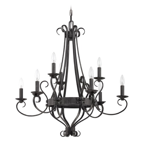 Jeremiah Lighting Jeremiah Lighting Ellsworth Charcoal Chandelier 37929-CHL