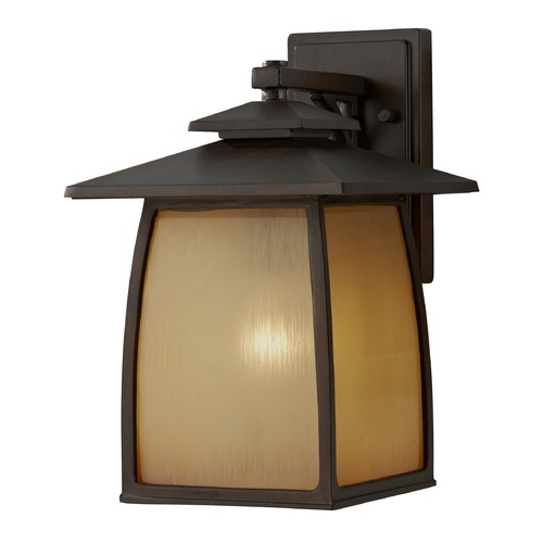 Feiss Lighting Feiss Lighting Wright House Sorrel Brown LED Outdoor Wall Light OL8502SBR-LED