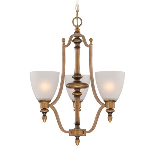 Designers Fountain Lighting Designers Fountain Isla Aged Brass Chandelier 85683-ABS