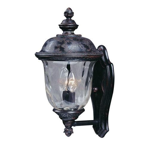 Maxim Lighting Outdoor Wall Light with Clear Glass in Oriental Bronze Finish 3422WGOB