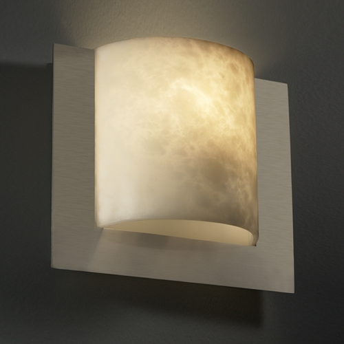 Justice Design Group Justice Design Group Clouds Collection Sconce CLD-5560-NCKL