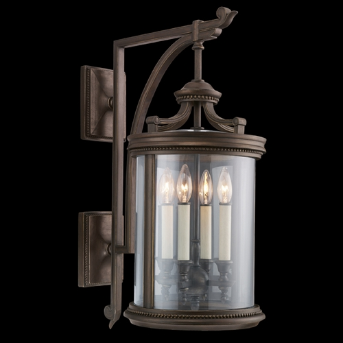 Fine Art Lamps Fine Art Lamps Louvre Bronze Outdoor Wall Light 538481ST