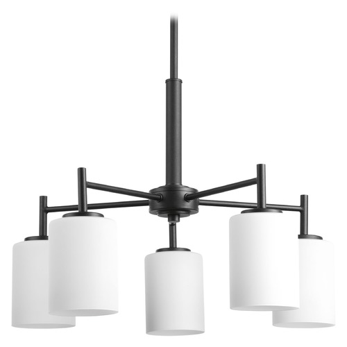Progress Lighting Modern Mini-Chandelier Black Replay by Progress Lighting P4319-31