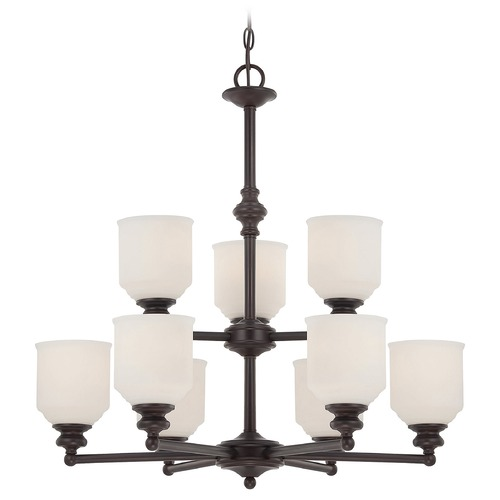 Savoy House Savoy House English Bronze Chandelier 1-6838-9-13