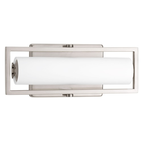Progress Lighting Frame Brushed Nickel LED Bathroom Light - Vertical or Horizontal Mounting P2781-0930K9
