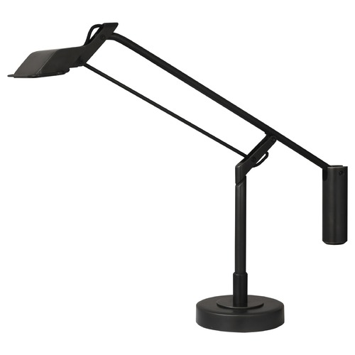 Robert Abbey Lighting Robert Abbey Lighting Heron Deep Patina Bronze LED Swing Arm Lamp with Rectangle Shade Z852