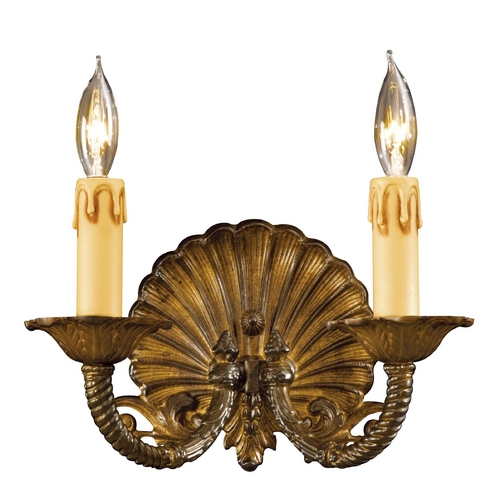Metropolitan Lighting Sconce Wall Light in Antique Bronze Patina Finish N9805-OXB
