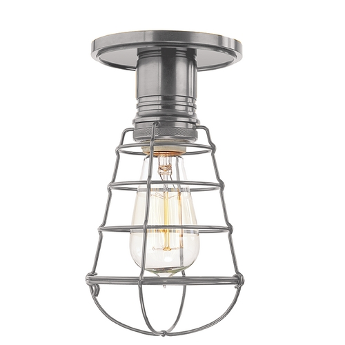 Hudson Valley Lighting Semi-Flushmount Light in Historic Nickel Finish 8100-HN-WG