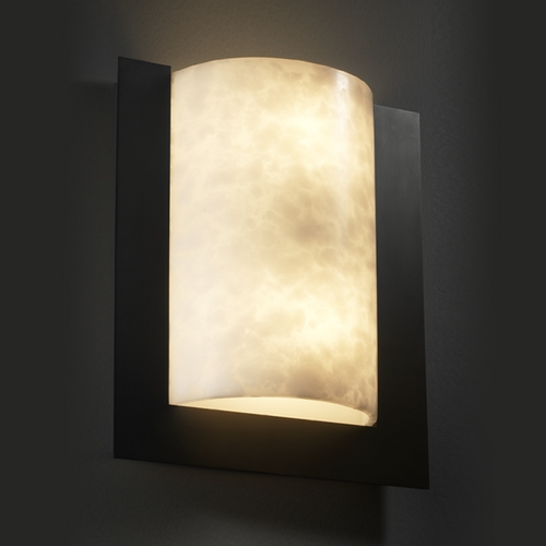 Justice Design Group Justice Design Group Clouds Collection Sconce CLD-5562-MBLK