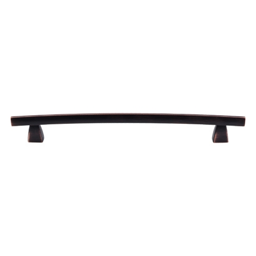 Top Knobs Hardware Modern Cabinet Pull in Tuscan Bronze Finish TK5TB