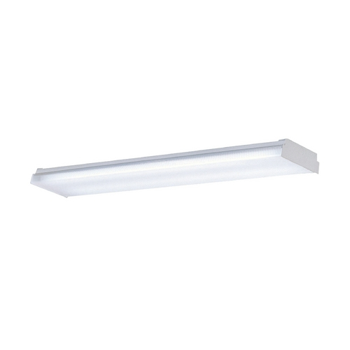 Progress Lighting Progress Wrap Around Fluorescent Ceiling Light P7196-30EB
