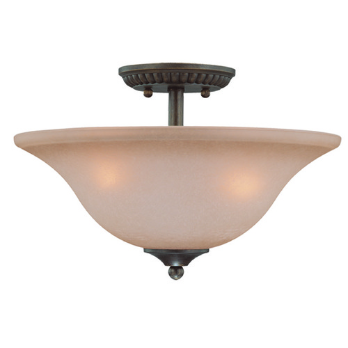 Craftmade Lighting Craftmade Gatewick Century Bronze Semi-Flushmount Light 26033-CB