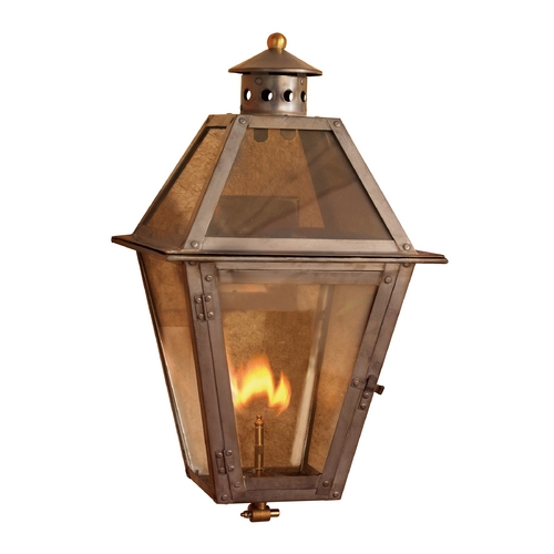 Elk Lighting Outdoor Wall Light with Clear Glass in Washed Pewter Finish 7929-WP