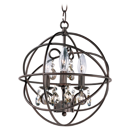 Maxim Lighting Maxim Lighting Orbit Oil Rubbed Bronze Pendant Light 25140OI