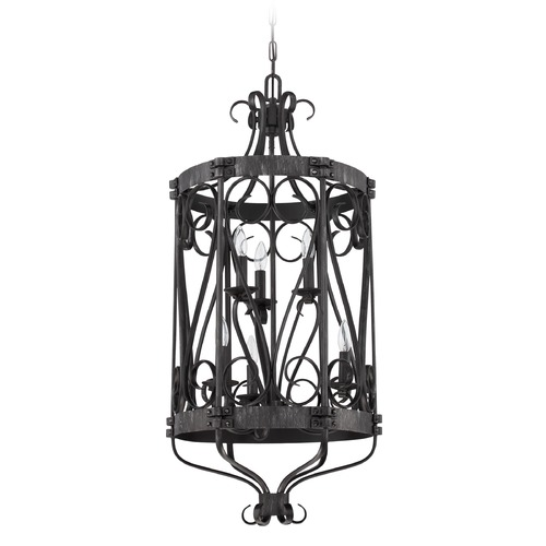 Jeremiah Lighting Jeremiah Lighting Ellsworth Charcoal Pendant Light 37936-CHL