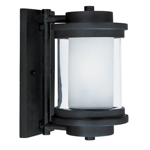 Maxim Lighting Maxim Lighting Lighthouse Anthracite Outdoor Wall Light 5862CLFTAR