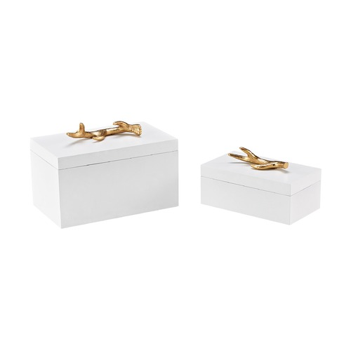 Sterling Lighting Sterling Lophelia Set of 2 Decorative Boxes 3129-1131/S2
