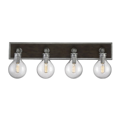 Savoy House Savoy House Lighting Dansk Galvanized Metal Bathroom Light 8-6073-4-90