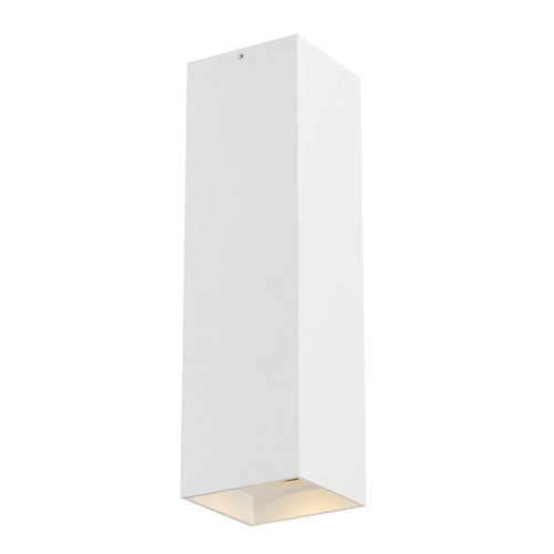 Tech Lighting White LED Semi-Flush Ceiling Light by Tech Lighting 700FMEXO1840WW-LED927