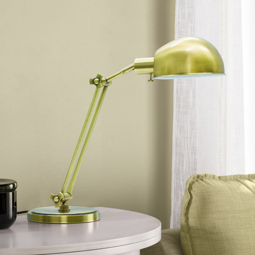 House of Troy Lighting Pharmacy Lamp in Antique Brass Finish AD450-AB