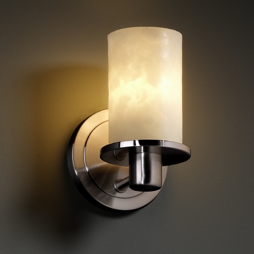 Justice Design Group Justice Design Group Clouds Collection Sconce CLD-8511-10-NCKL