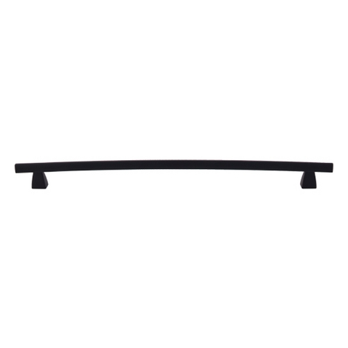 Top Knobs Hardware Modern Cabinet Pull in Flat Black Finish TK6BLK