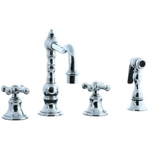 Cifial 4-hole Widespread Kitchen Faucet with Side Spray  267.255.625