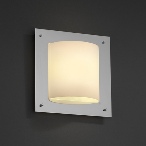 Justice Design Group Justice Design Group Fusion Collection Sconce FSN-5561-OPAL-CROM