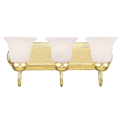Livex Lighting Livex Lighting Riviera Polished Brass Bathroom Light 1073-02