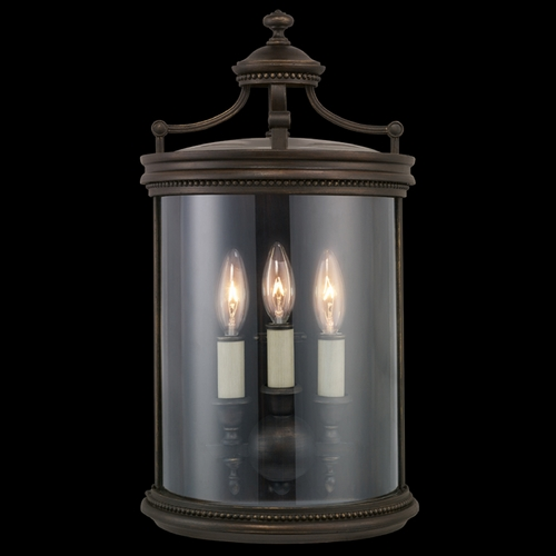 Fine Art Lamps Fine Art Lamps Louvre Bronze Outdoor Wall Light 539081ST