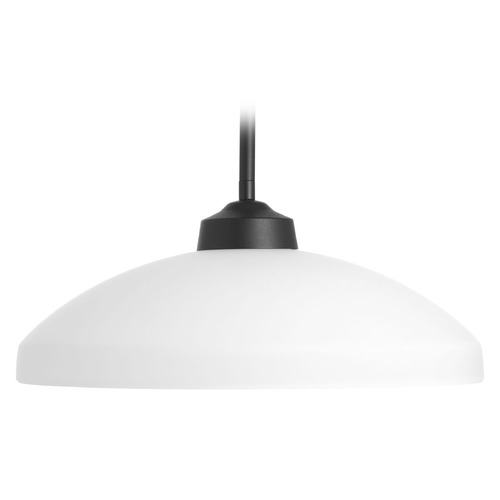 Progress Lighting Progress Lighting Replay Black Pendant Light with Bowl / Dome Shade P5162-31