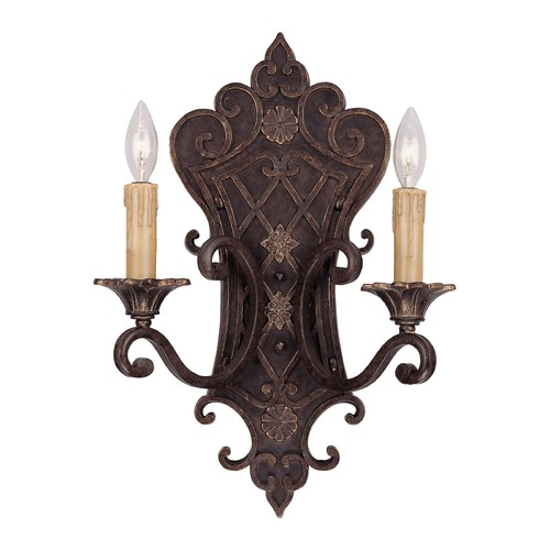 Savoy House Savoy House Florencian Bronze Sconce 9-0159-2-76