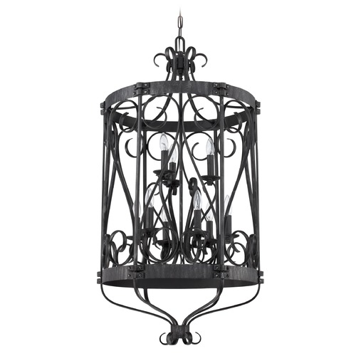 Jeremiah Lighting Jeremiah Lighting Ellsworth Charcoal Pendant Light 37939-CHL