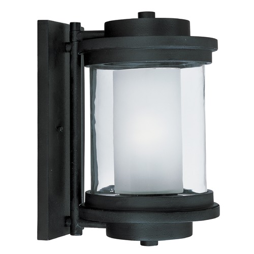 Maxim Lighting Maxim Lighting Lighthouse Anthracite Outdoor Wall Light 5864CLFTAR