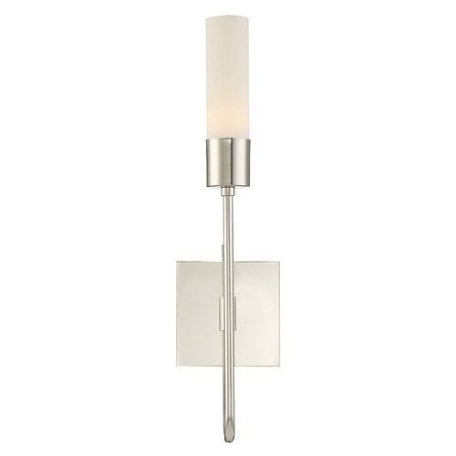 Savoy House Savoy House Lighting Luxor Polished Nickel Sconce 9-104-1-109