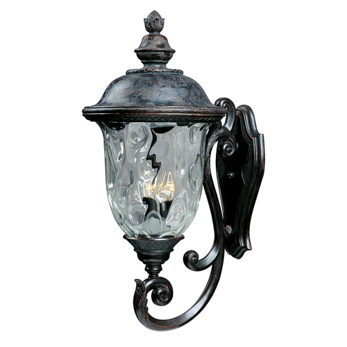 Maxim Lighting Maxim Lighting Carriage House Dc Oriental Bronze Outdoor Wall Light 3425WGOB