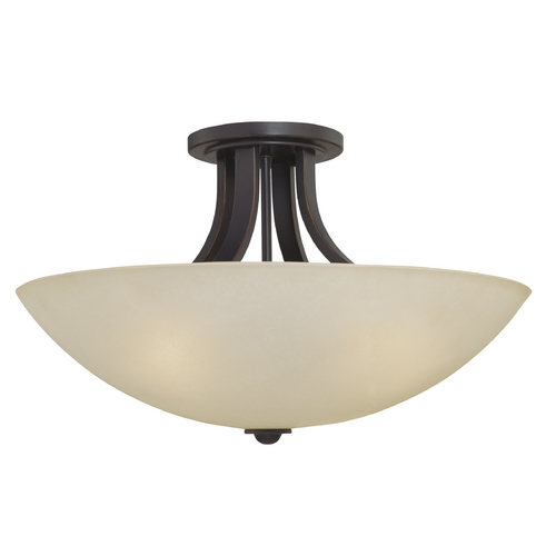 Dolan Designs Lighting Three-Light 22-Inch Ceiling Light 203-78