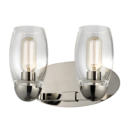 Hudson Valley Lighting Hudson Valley Lighting Pamelia Polished Nickel Bathroom Light 8842-PN