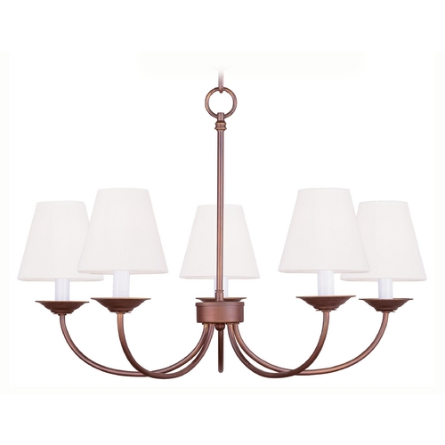 Livex Lighting Livex Lighting Mendham Vintage Bronze Chandelier 5275-70