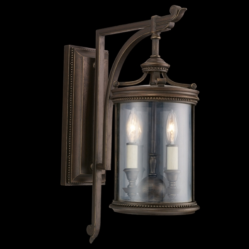 Fine Art Lamps Fine Art Lamps Louvre Bronze Outdoor Wall Light 542281ST