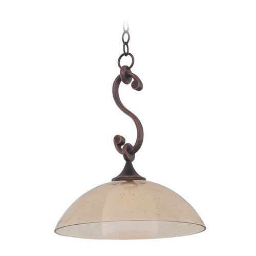Kalco Lighting Kalco Lighting Arroyo Antique Copper Pendant Light 6495AC