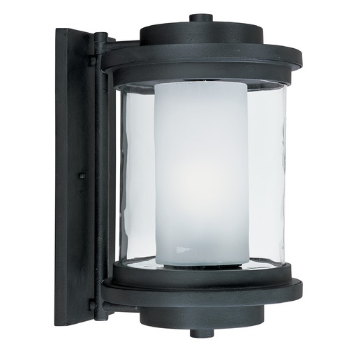 Maxim Lighting Maxim Lighting Lighthouse Anthracite Outdoor Wall Light 5866CLFTAR