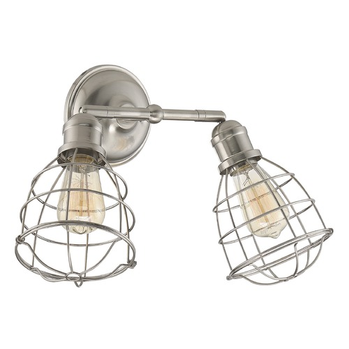Savoy House Savoy House Lighting Scout Satin Nickel Sconce 8-4138-2-SN
