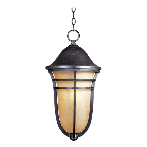 Maxim Lighting Outdoor Hanging Light in Artesian Bronze Finish 85407MCAT