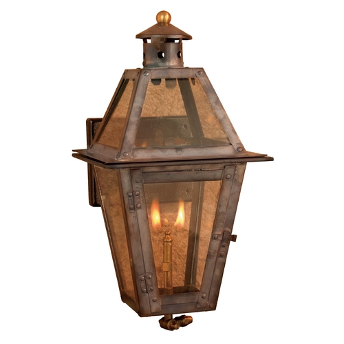 Elk Lighting Outdoor Wall Light with Clear Glass in Washed Pewter Finish 7925-WP