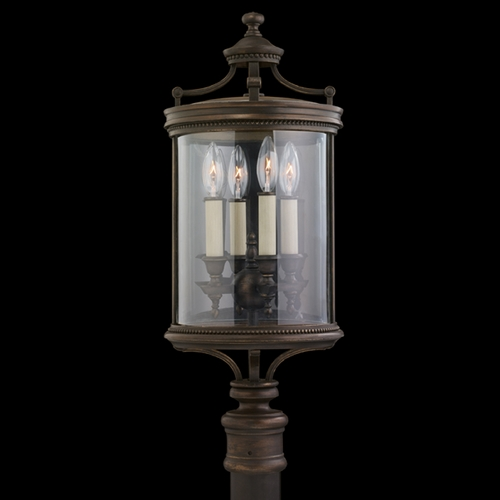 Fine Art Lamps Fine Art Lamps Louvre Bronze Post Lighting 559483ST